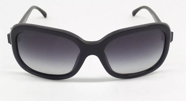 19fcb0de9fab CHANEL 5280-Q 501/S6 Sunglasses BOW Chanel Black/Gray Gradient ITALY SOFT  SQUARE B3/25. Ships from Los Angeles ...