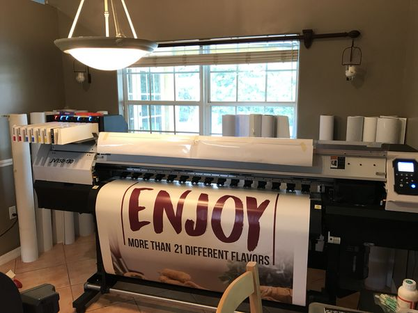 Mimaki jv150-130 and roll laminator royal sovereign for Sale in Miami, FL -  OfferUp
