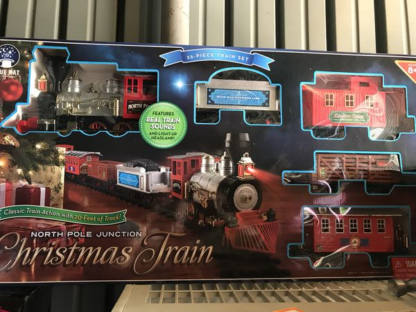 christmas train set games toys in phoenix az offerup - North Pole Junction Christmas Train