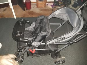 Double stroller used three times for Sale in Baltimore, MD