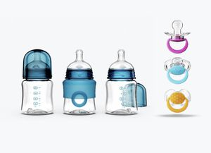 Smilo baby bottles and pacifiers for Sale in Seattle, WA