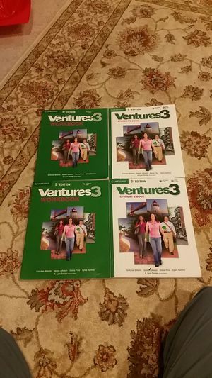 English book Ventures 3 for Sale in Ashburn, VA