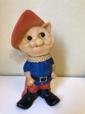 Puss in Boots rare Vintage USSR toy Cat in the Hat for Sale in Claremont, CA