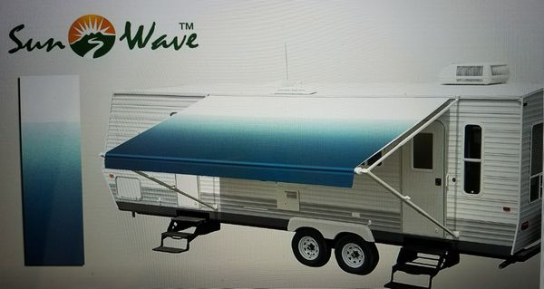 17 Rv Camping Trailer Camper Awning Replacement Sun Shade