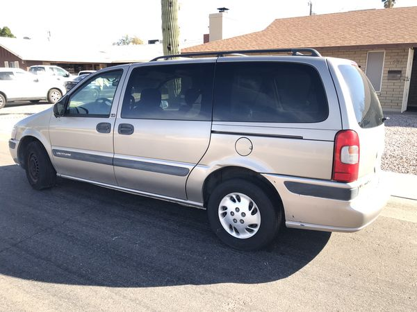 2001 Chevy Venture Minivan Ing In As Is Condition