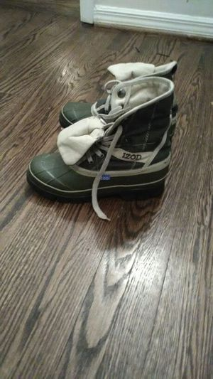 Izod canvas rubber boot for Sale in Washington, DC