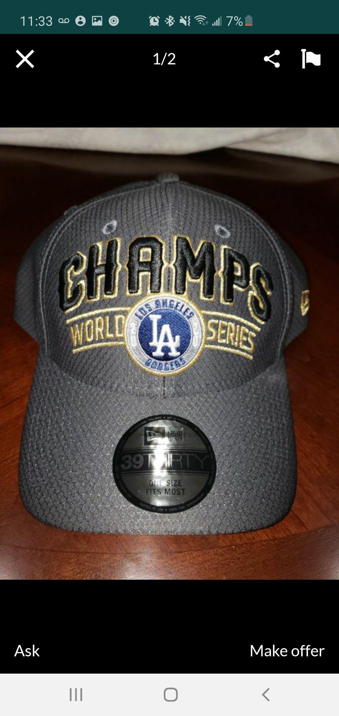 Dodger championship Hat