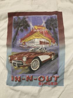 Vintage In N Out Shirt Thumbnail