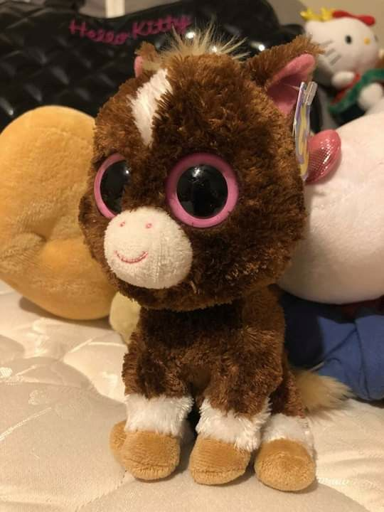 7d95d6d8e2d TY beanie babies brown horse stuffed animal toy for Sale in Oakland ...