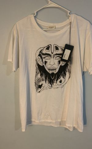 Saint Laurent X Grimes Mask Tee for Sale in Washington, DC