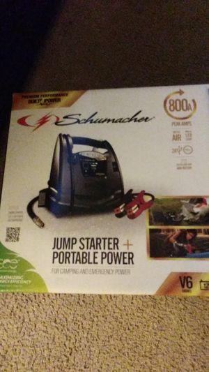 Jump Starter + Portable Power for Sale in Silver Spring, MD