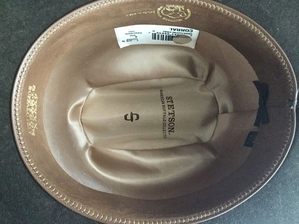 Stetson 4X Corral Buffalo Felt Cowboy Hat size 7 3 8 (59) for Sale in West  Chicago 0facd7862e6