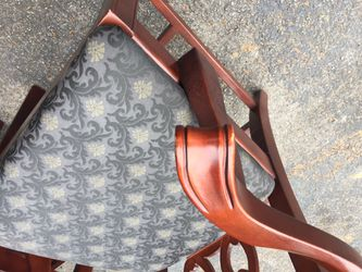 4 used Bernhardt dining room chairs Thumbnail