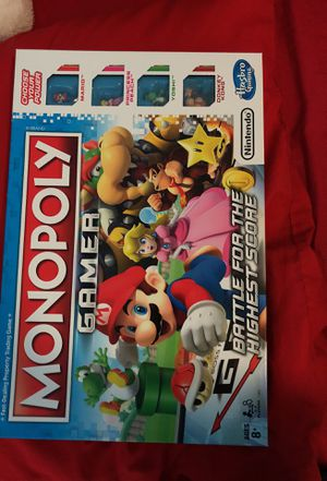 Nintendo monopoly(ages 8+) for Sale in Bronx, NY