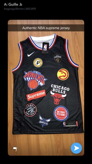 meet 7a65f 280e3 Supreme nba jersey for Sale in Tamarac, FL - OfferUp