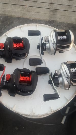 Abu garcia bait casters fishing reel for Sale in Los Angeles, CA