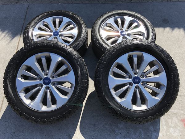 20 Ford F 150 Stock Wheels Hankook Atm Tires Oem Clean F150 F