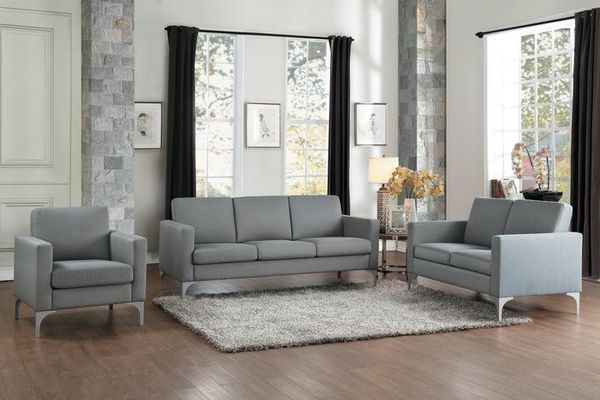 gray living room furniture. Soho Brownish Gray Living Room Set | HE-9979BRG (Furniture) In Houston, TX - OfferUp Furniture