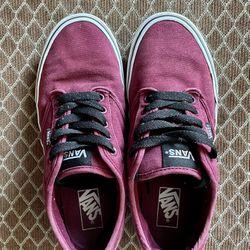 Vans Men Size 10 Burgundy/Red Thumbnail