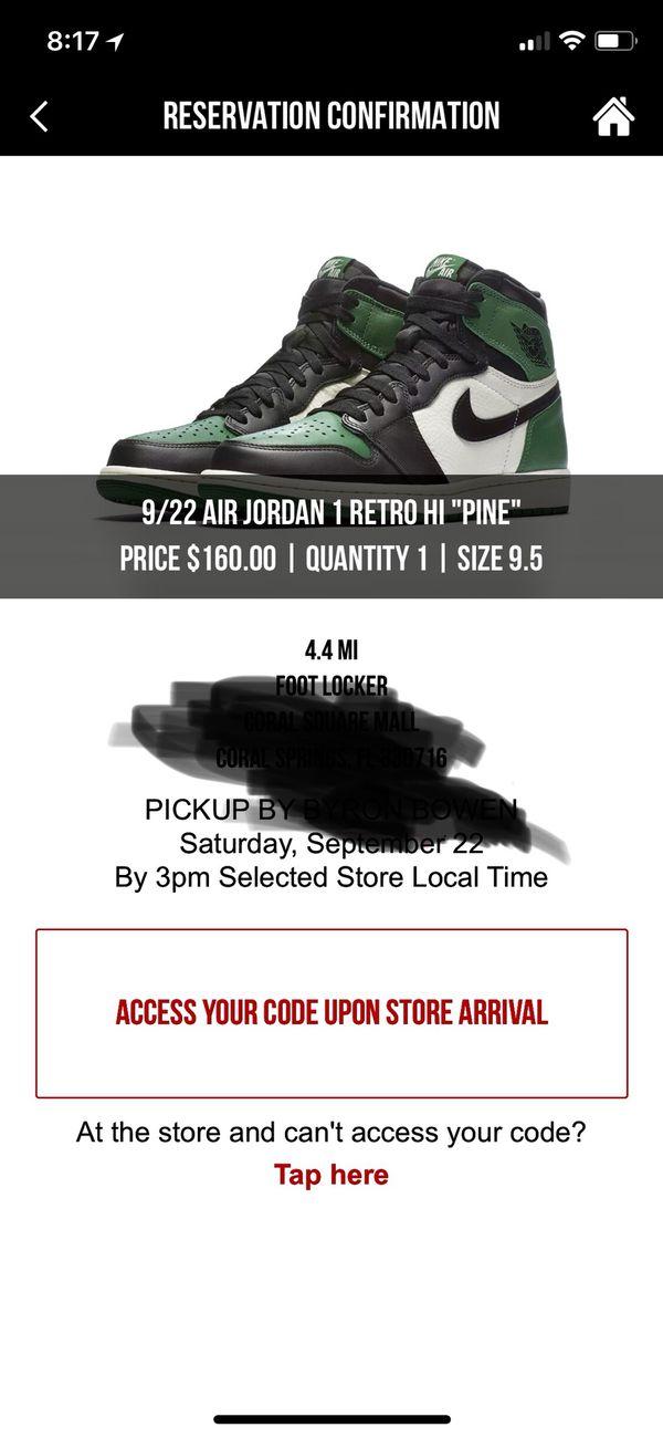 d5967173dcce Jordan 1 Pine Green for Sale in Sunrise
