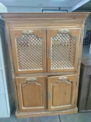Wooden cabinet for sale  Tulsa, OK