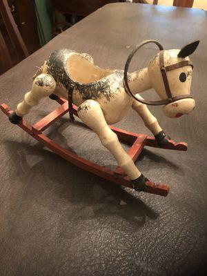 Folk Art Rocking Horse Planter for Sale in Centreville, VA