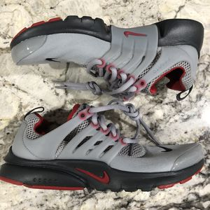 Nike Air Presto GS Gym Red/Gray Shoes Women's Sz 8.5 Youth Size 7Y for Sale in Arlington, VA