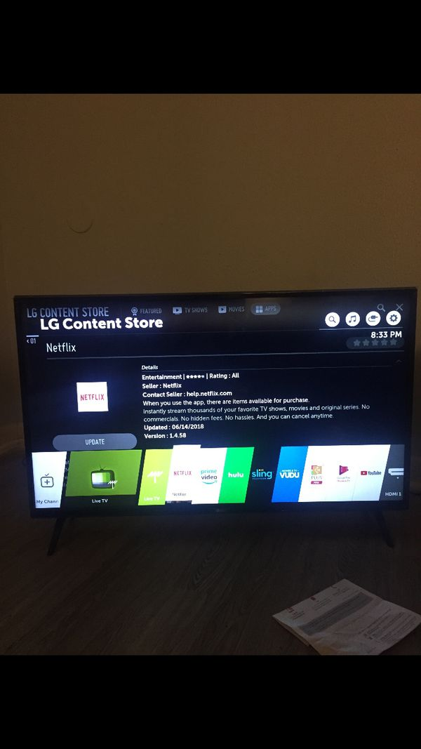 43 INCH LG TV & PS4 for Sale in Baytown, TX - OfferUp