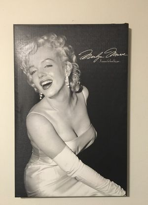 Marilyn Monroe large canvas print for Sale in Dallas, TX