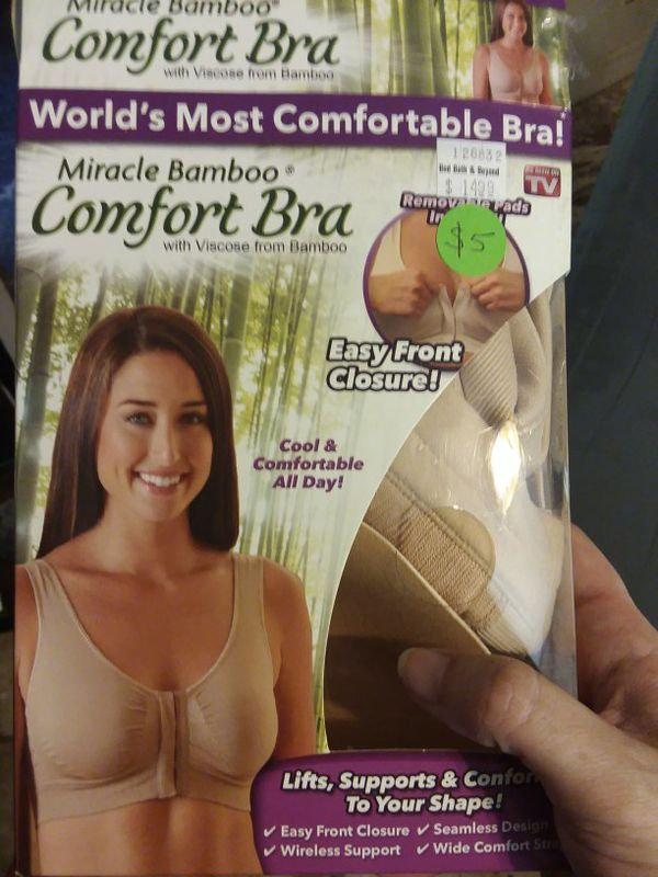 b65aa97f9e Miracle bamboo comfort bra for Sale in Durham
