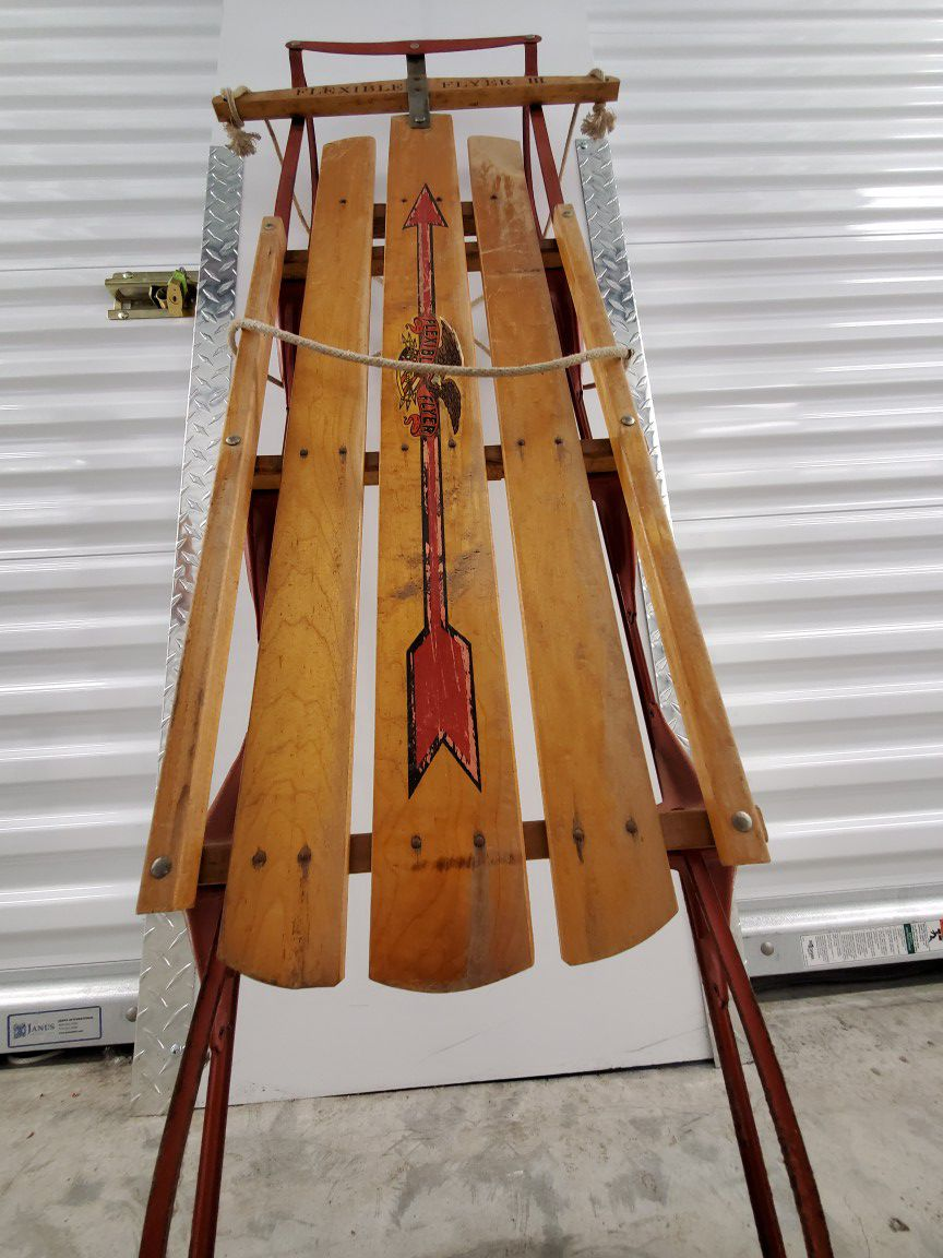 Flexible Flyer III Sled