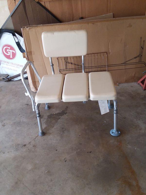 Transfer Bench Sliding Tub Drive Medical Shower Chair Medline With ...