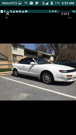 93 celica convertible itgt willing to do a trade 185k 1200 today only for Sale in Washington, DC