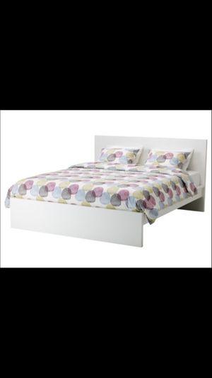 Ikea malm bed frame + ikea mattress for Sale in San Jose, CA - OfferUp
