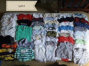50 piece newborn baby boy onesies for Sale in Frederick, MD