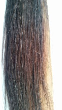 """22 """" itips human hair extensions Remy - brown #4 (5 packs ) Thumbnail"""