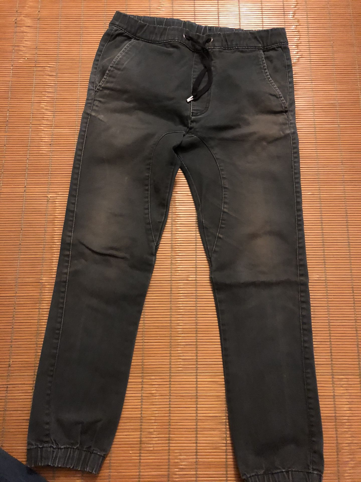 Black 30x30 Men's Pants