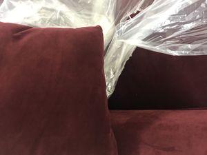 Red Velvet Sofa Pier 1 Imports for Sale in Miami, FL