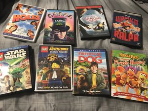 Kids DVDs Lot Disney LEGO etc for Sale in Raleigh, NC