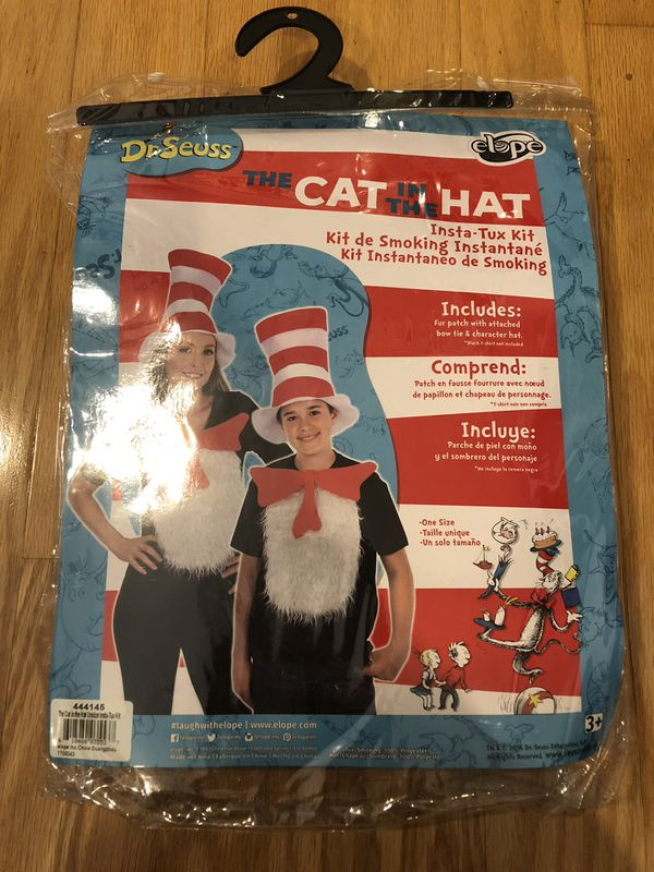 Just Like New Cat In The Hat Costume Props For Sale In Huntington