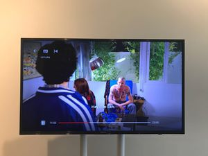 Less than 11 months old 40 inch Samsung MU6300 TV for Sale in Boston, MA