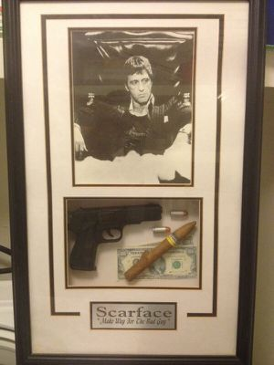 Al Pacinoscarface Memorabilia 16x20 Framed Picture For Sale In