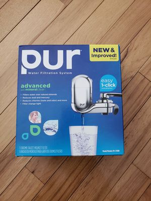 PUR Advanced Faucet Water Filter Chrome FM-3700B Small Kitchen Appliances Bar for Sale in Elk River, MN