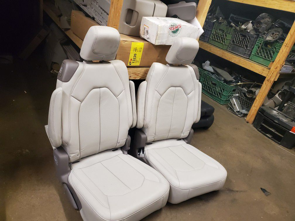 Brand New Leather Bucket Seats