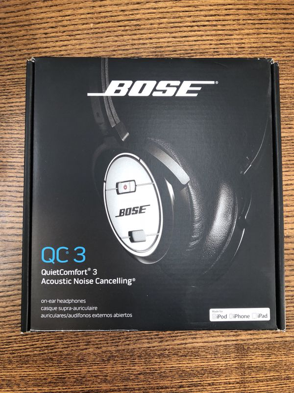 a197c1fd144 Bose QC3 Noise Cancelling headphones for Sale in Kearny, NJ - OfferUp