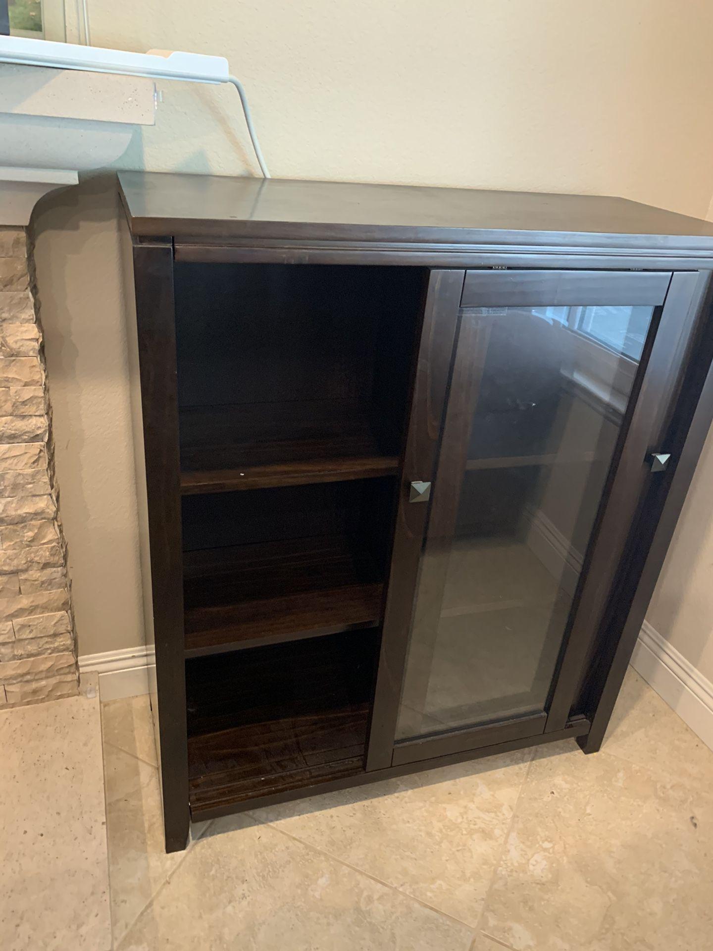 Espresso Cabinet