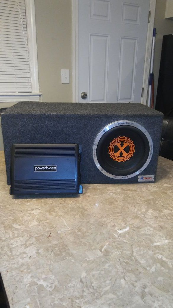 PowerBass 10 subwoofer for Sale in Kansas City, MO - OfferUp