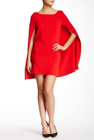 Issue New York Red Cape Dress for Sale in Arlington, VA