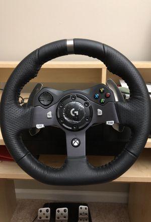 Logitech Xbox One/pc steering wheel for Sale in Herndon, VA
