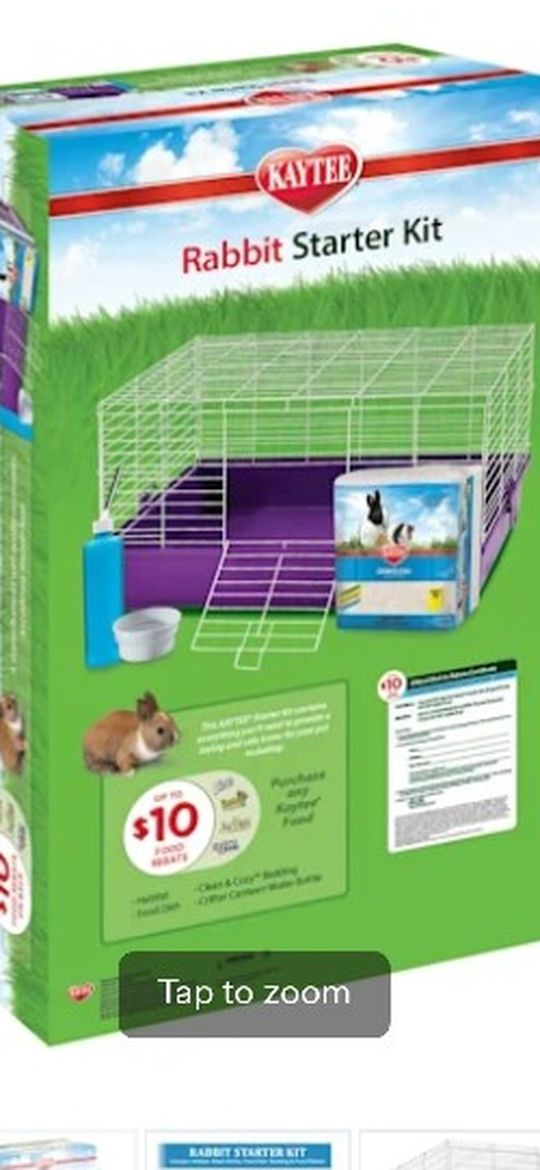 Large Rabbit/Hamster Crate By Kaytee
